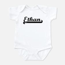 Black jersey: Ethan Onesie