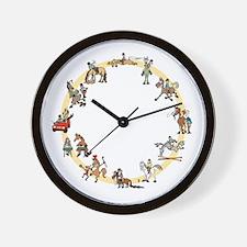 Rider Excuses Barn Clock