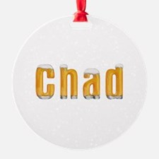 Chad Beer Ornament