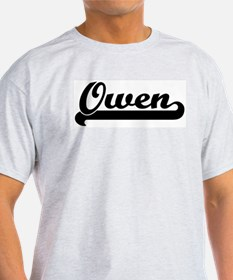 Black jersey: Owen Ash Grey T-Shirt