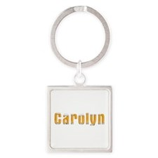 Carolyn Beer Square Keychain