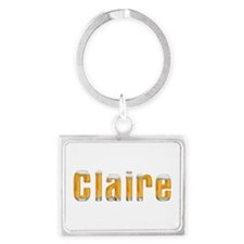 Claire Beer Landscape Keychain