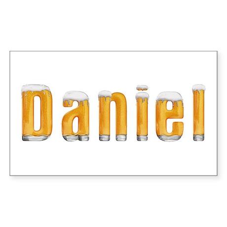 Daniel Beer Rectangle Sticker