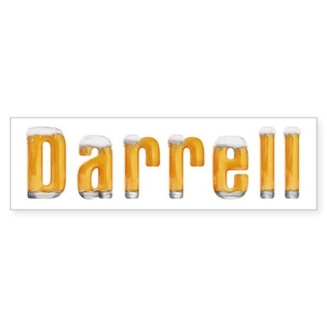 Darrell Beer Bumper Sticker