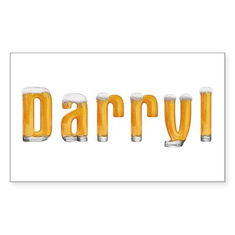 Darryl Beer Rectangle Sticker