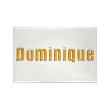 Dominique Beer Rectangle Magnet