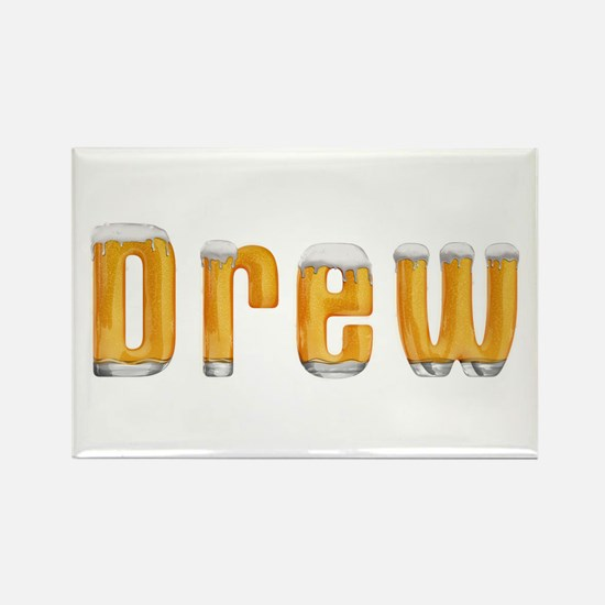 Drew Beer Rectangle Magnet