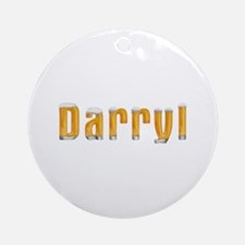 Darryl Beer Round Ornament