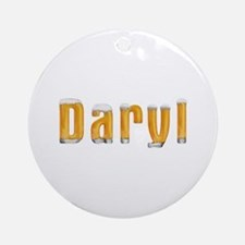 Daryl Beer Round Ornament