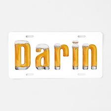 Darin Beer Aluminum License Plate