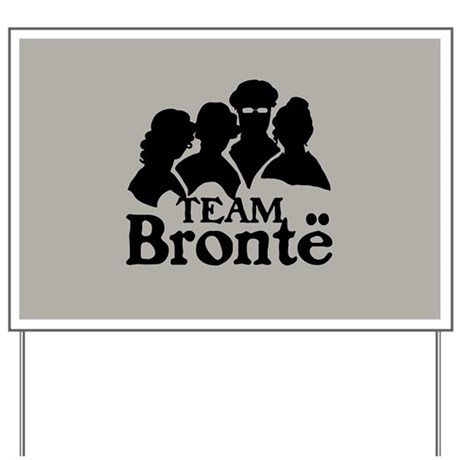 Team Bronte Yard Sign