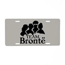 Team Bronte Aluminum License Plate