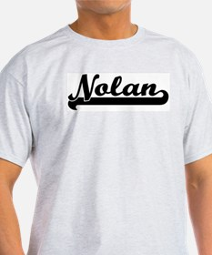 Black jersey: Nolan Ash Grey T-Shirt