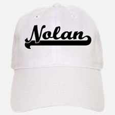 Black jersey: Nolan Baseball Baseball Cap