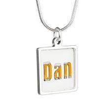 Dan Beer Silver Square Necklace