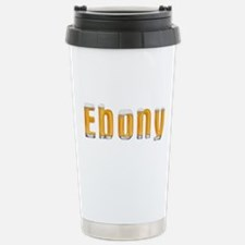 Ebony Beer Travel Mug