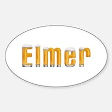Elmer Beer Oval Decal