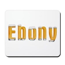 Ebony Beer Mousepad