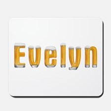 Evelyn Beer Mousepad