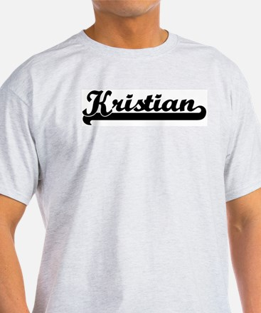 Black jersey: Kristian Ash Grey T-Shirt
