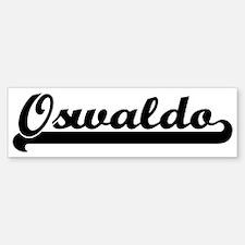 Black jersey: Oswaldo Bumper Bumper Bumper Sticker