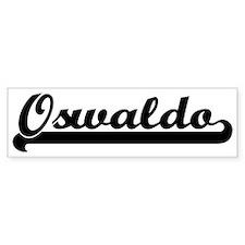 Black jersey: Oswaldo Bumper Bumper Sticker