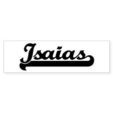 Black jersey: Isaias Bumper Bumper Sticker