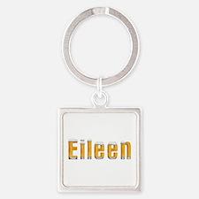 Eileen Beer Square Keychain