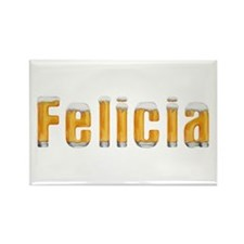 Felicia Beer Rectangle Magnet