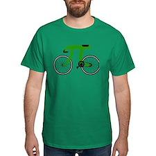 Pi Bike green.png T-Shirt