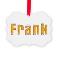 Frank Beer Ornament