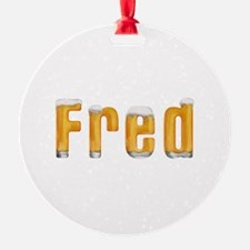 Fred Beer Ornament