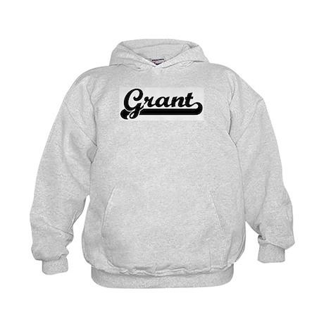 Black jersey: Grant Kids Hoodie