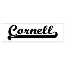 Black jersey: Cornell Bumper Bumper Sticker