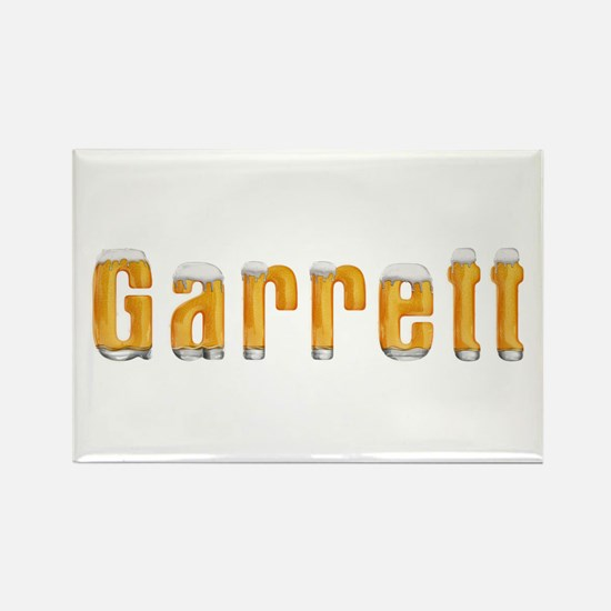 Garrett Beer Rectangle Magnet