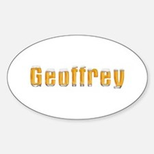 Geoffrey Beer Oval Decal