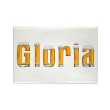 Gloria Beer Rectangle Magnet