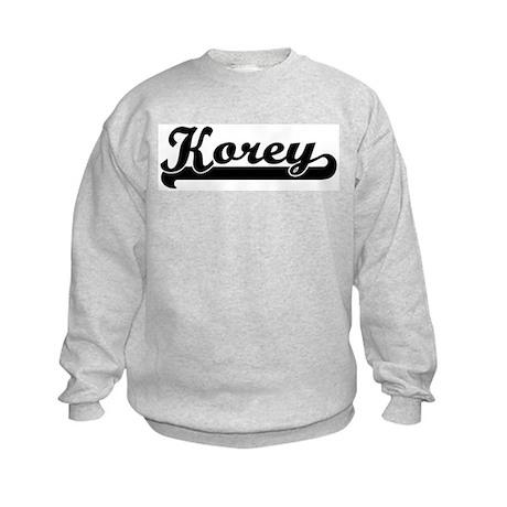 Black jersey: Korey Kids Sweatshirt