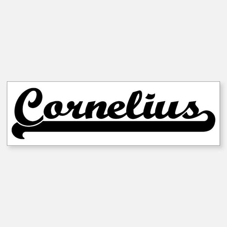 Black jersey: Cornelius Bumper Bumper Bumper Sticker