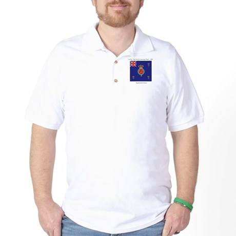 60th Regimental Colours Golf Shirt