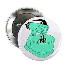 "Vintage Green Sunbeam Mixmaster 2.25"" Button"