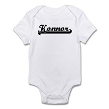 Black jersey: Konnor Infant Bodysuit