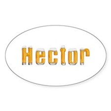 Hector Beer Oval Decal