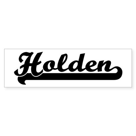 Black jersey: Holden Bumper Sticker