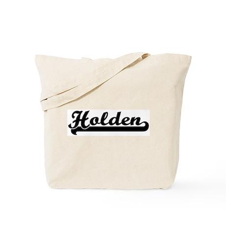 Black jersey: Holden Tote Bag