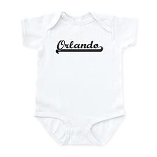 Black jersey: Orlando Infant Bodysuit