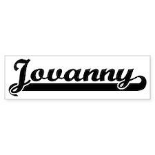 Black jersey: Jovanny Bumper Bumper Sticker