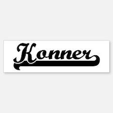 Black jersey: Konner Bumper Bumper Bumper Sticker