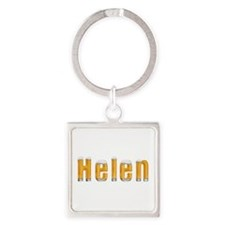 Helen Beer Square Keychain