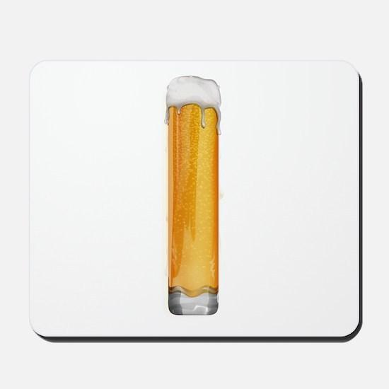 I Beer Mousepad